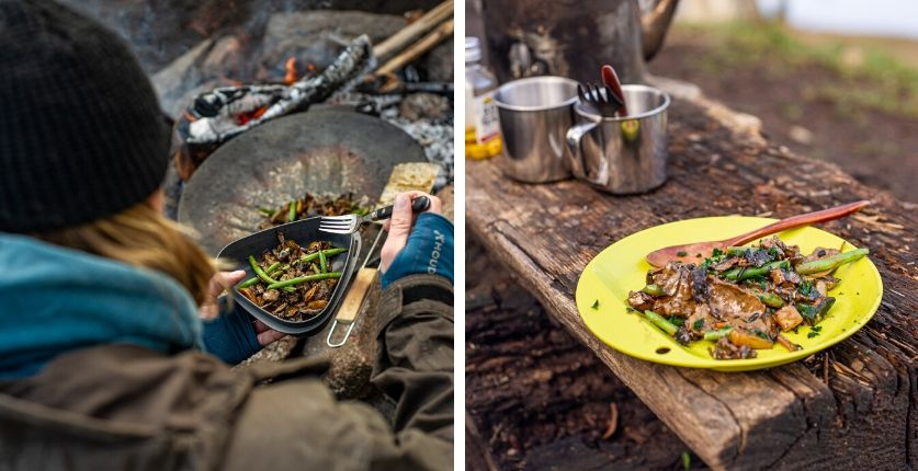 Andreas viltskavsgryta, Outdoor cooking i Blekinge