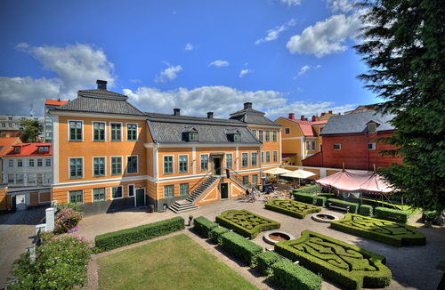 Grevagården, Blekinge museum in Sweden. Photo by Ola Åkeborn