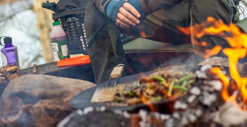 Outdoor cooking i Blekinge