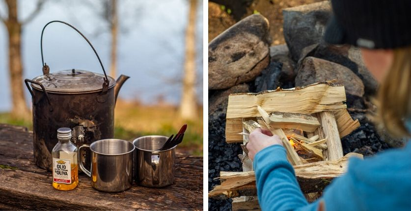 Outdoor cooking i Blekinge med Nature by Andreas