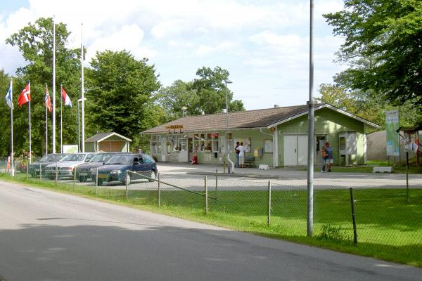 Kolleviks camping reception and café