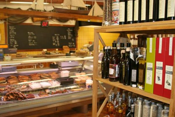 Delicatessen in the store