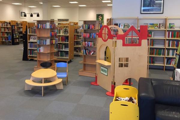 The library with children's department
